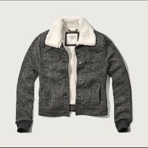 Abercrombie Sherpa Lined Classic Jacket
